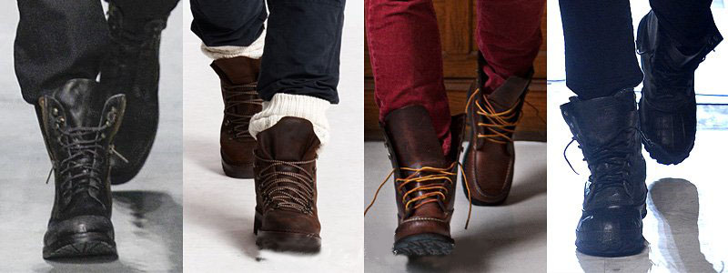 Kenneth Cole, Ralph Lauren, Gant by Michael Bastian, Michael Bastian Boots For Fall-Winter 2013-2014 | Men's Fashion