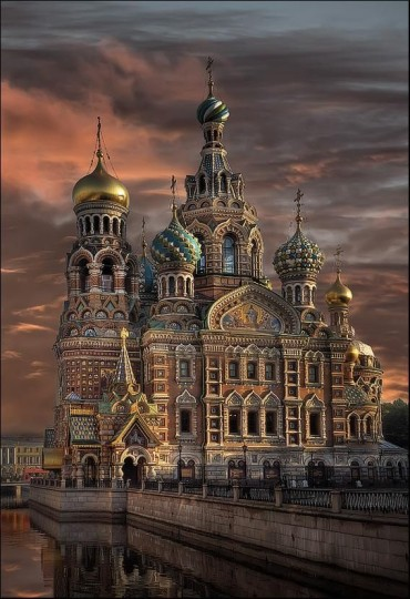 Beautiful Churches From The Rest of The World: Church of the Savior on Blood - Russia