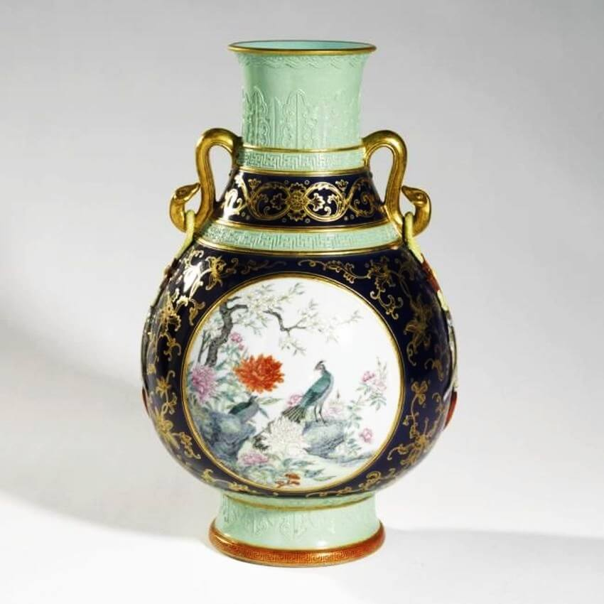 Top 5 Most Expensive Vases in the World - EALUXE.COM  | Qing Dynasty Vase
