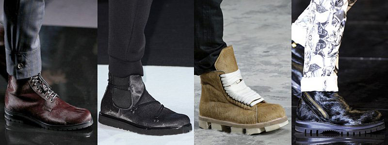 Louis Vuitton, Emporio Armani, Rick Owens, Versace Boots For Fall-Winter 2013-2014 | Men's Fashion