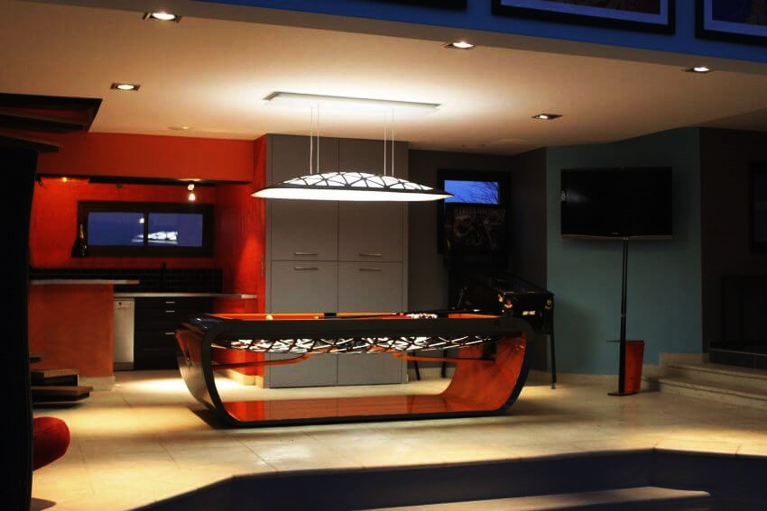 ... Top 10 Most Expensive Pool Tables In The World   EALUXE | The BlackLight  Pool Table