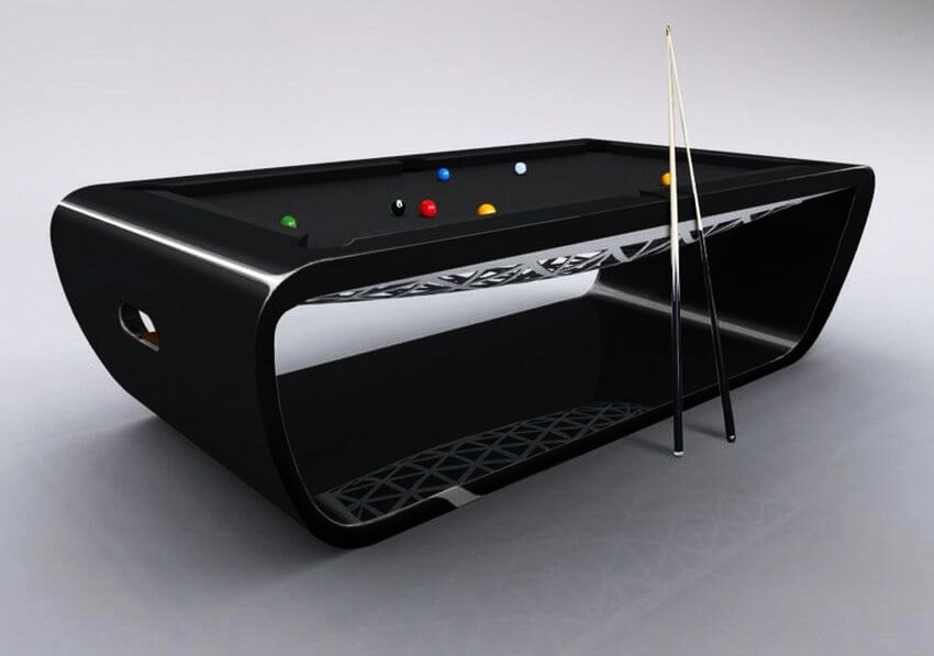 Top 10 Most Expensive Pool Tables in the World - EALUXE | The BlackLight Pool  Table