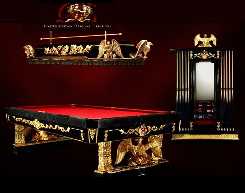 Top 10 Most Expensive Pool Tables in the World - EALUXE
