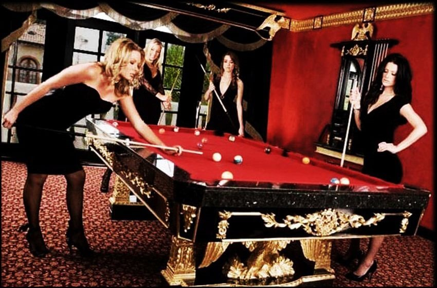 Top Most Expensive Pool Tables In The World EALUXE - Red top pool table