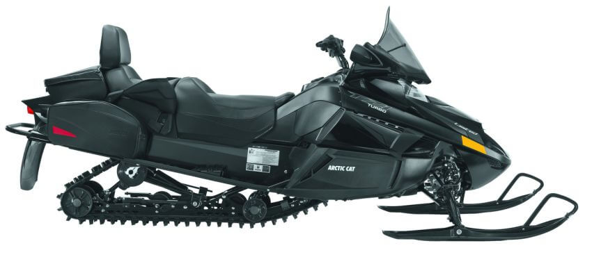 Top 10 Most Expensive Snowmobiles in the World - EALUXE | 2013 Arctic Cat TZ1 Turbo LXR