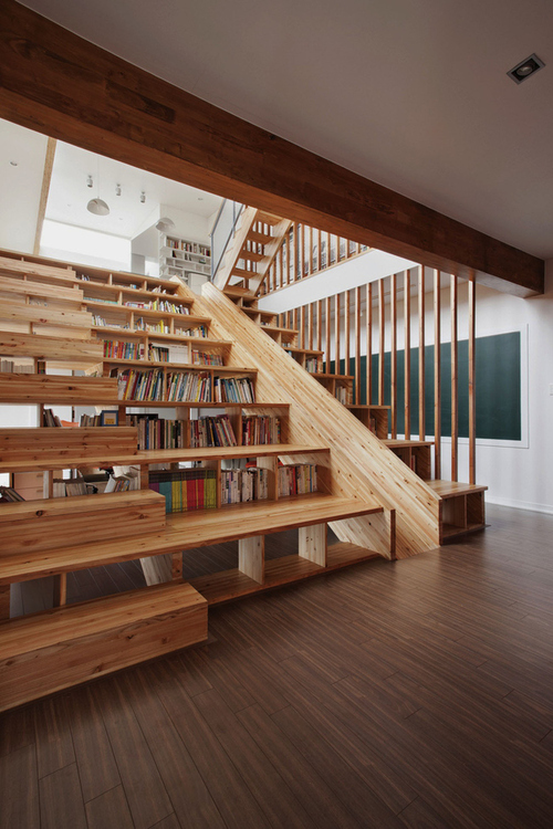 A Library Staircase-Slide