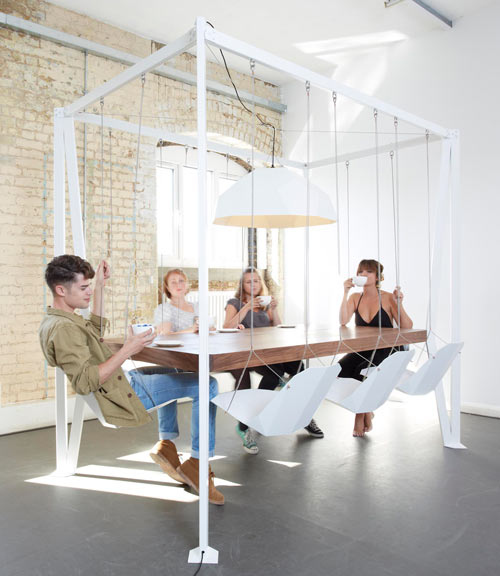 A Swing-Set Dining Table 30 Things You Clearly Need In Your New Home