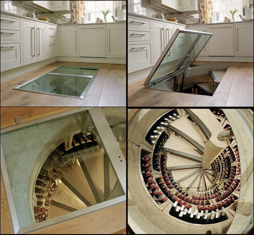 A Wine Cellar Trap Door