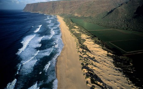 Barking Sands Beach, Hawaii Unusual Beaches Around The World