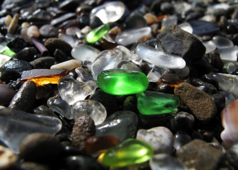 Glass Beach, California Unusual Beaches Around The World