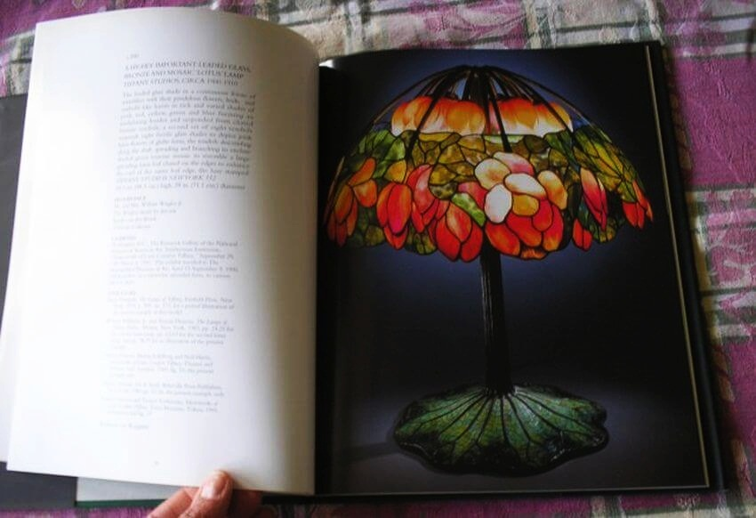 Most Expensive Lamp |  Most Expensive Lamp | Pink Lotus was featured in Christie's catalog.