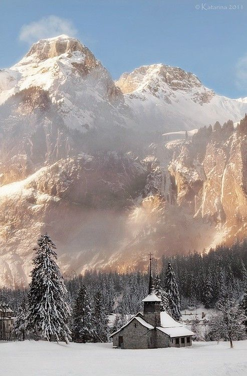 Most beautiful winter landscapes