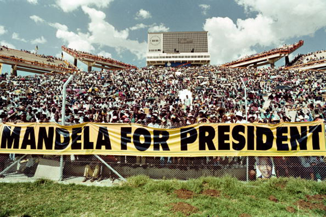 A crowd of estimated 40.000 African Nati Nelson Mandela Is Dead   What You Need To Know