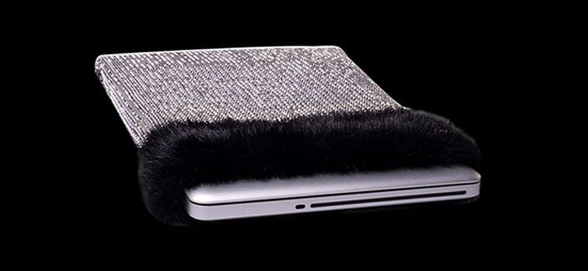 Most Expensive Laptop Sleeve in the World | The $11 million accessory definitely makes the laptop look exquisite!