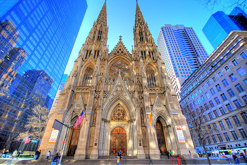 Beautiful Churches From The Rest of The World: Saint Patrick's Cathedral - USA