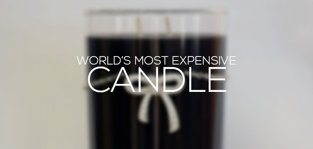 Most Expensive Candle In The World