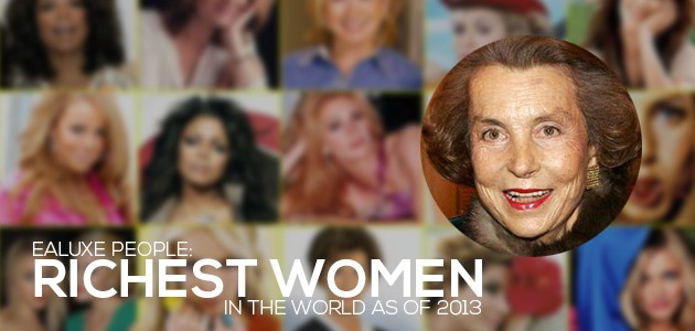 World's Richest Women of 2013