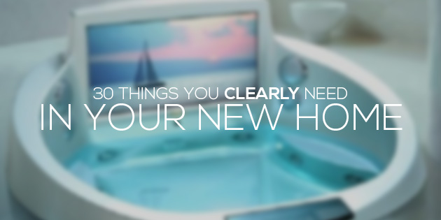 cover things you clearly need new home