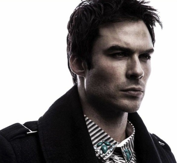 Ian Somerhalder covers Annex Man magazine