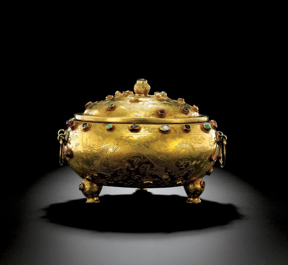 Most Expensive Antiques in the World | Top 10 | #6 Ming Dynasty Gold Tripod Vessel – $14.2 million