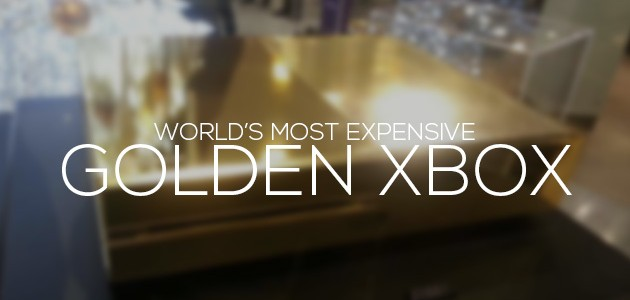 Most Expensive Golden Xbox in the World