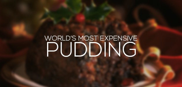 most expensive pudding