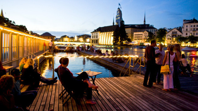 Best Places to Spend Christmas: Zurich - Switzerland