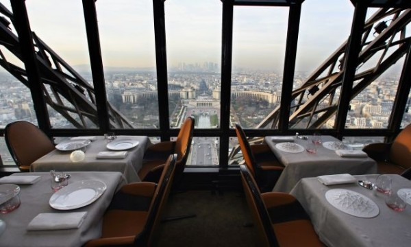 Le Jules Verne Restaurant Eiffel Tower Restaurant Celebrates 30th Anniversary