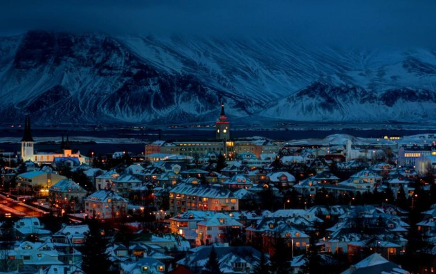 Best Places to Spend Christmas: Reykjavík - Iceland