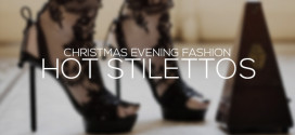 Hot Stilettos For Christmas Evening