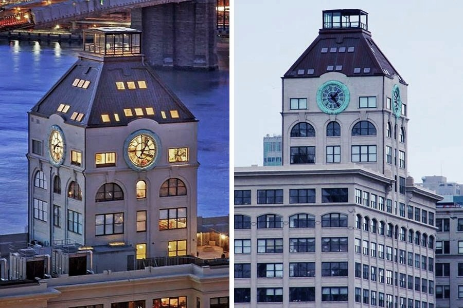 Clock Tower Transformed Into Luxury Penthouse