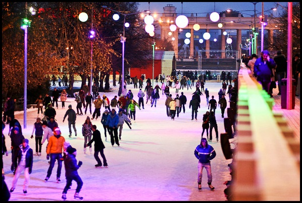 Most Spectacular Ice Rinks in the World