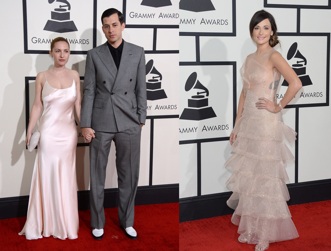 Pastel Outfits at the Grammy Awards 2014