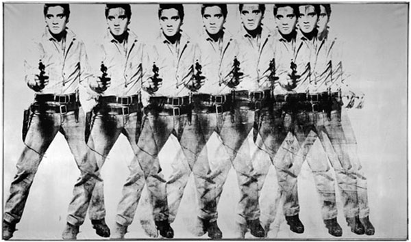 Eight Elvises - Andy Warhol