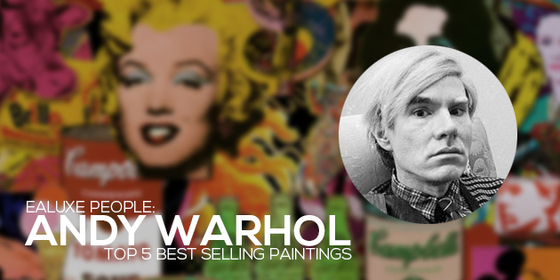 Andy warhol top 5 best selling paintings for Andy warhol famous works