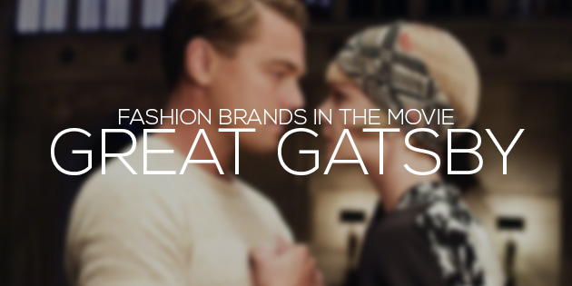 cover fashion brands in the movie great gatsby