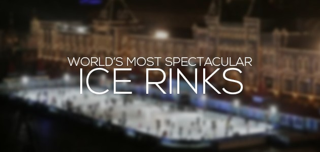cover most spectacular Ice Rinks in the world