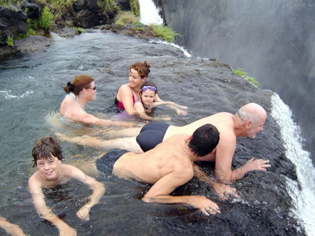 Most Amazing Pool in the World: Devil's Pool