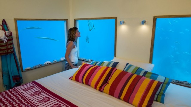 Private Island With Underwater Bedroom | Manta Resort
