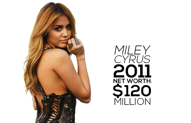 Miley Cyrus Net Worth 2014 2011