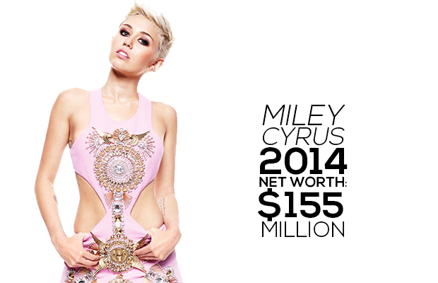 Miley Cyrus Net Worth 2014 2013