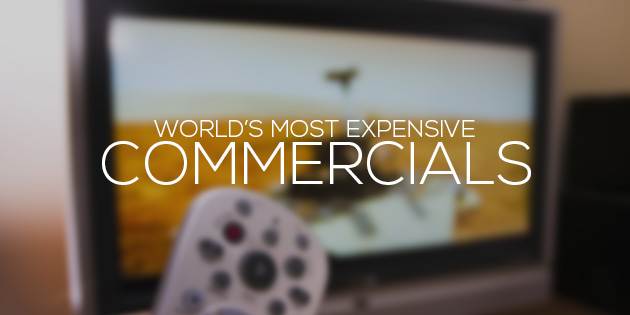 most expensive commercials in the world