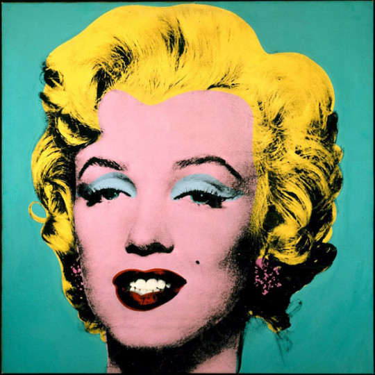 Turquoise Marilyn - Andy Warhol