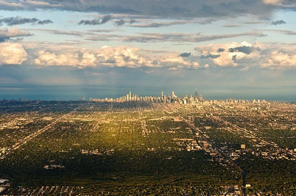 Popular Cities View From the Sky: Chicago