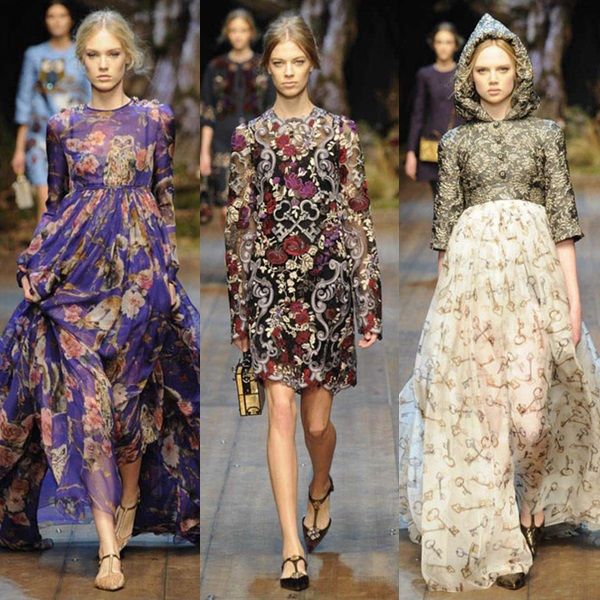 Dolce & Gabbana Fall 2014 Collection
