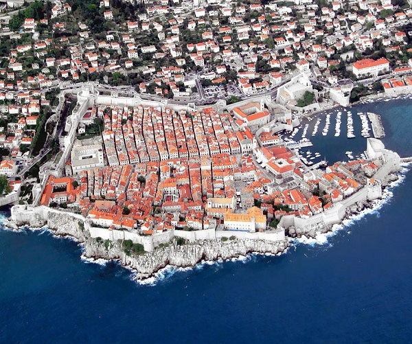 Popular Cities View From the Sky: Dubrovnik