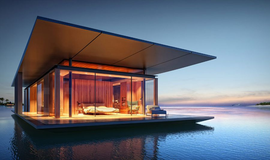 Luxury Redefined Floating House Concept