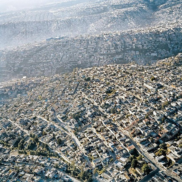 Popular Cities View From the Sky: Mexico City