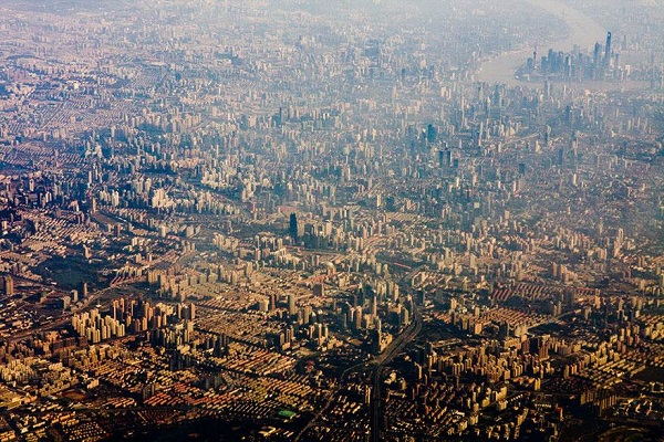 Popular Cities View From the Sky: Shanghai