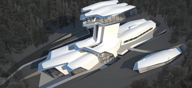 Naomi Campbell's Spaceship House | Expensive Lifestyle